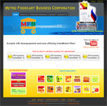 Metrofoodcart Website