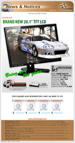 PC Broker Newsletter Design