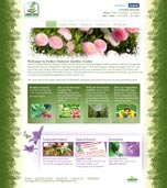 Garden Web Design Sample