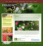 Garden Sample Web Design