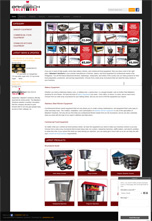 Baketech Solutions Product Catalog Responsive Web Design & Development